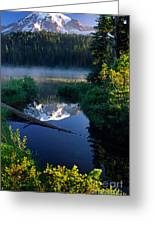 Majestic Reflection Greeting Card by Inge Johnsson