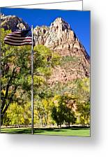 Majestic Sight - Zion National Park Greeting Card
