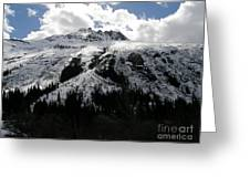 Majestic Skagway Mountaintop Greeting Card