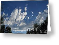 Majestic Sky - Building Cumulus Greeting Card