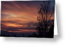 Majestic Sky Greeting Card