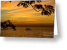Majestic Sunset Greeting Card