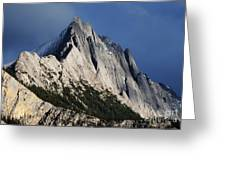 Majesty In The Canadian Rockies Greeting Card