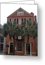Major Peter Bocquet House Charleston South Carolina Greeting Card