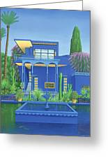 Majorelle Gardens, Marrakech Greeting Card