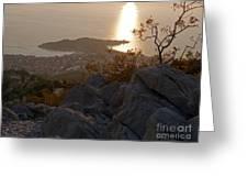 Makarska - Evening Light Greeting Card