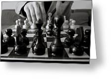 Make Your Move  Greeting Card