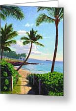 Makena Beach - Maui Greeting Card