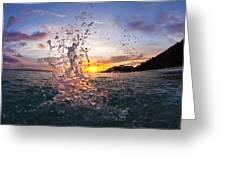Makena Splash Greeting Card