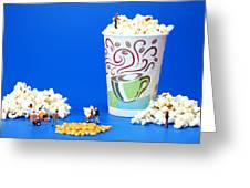 Making Popcorn Greeting Card