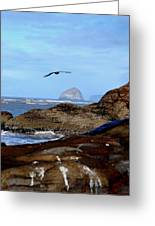 Making Waves 3 Greeting Card by Mamie Gunning