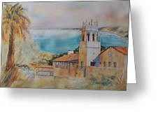Malaga Cove Greeting Card