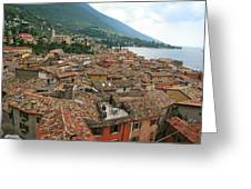 Malcesine Lake Garda Greeting Card