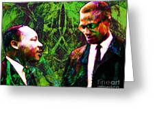Malcolm And The King 20140205p68 Greeting Card