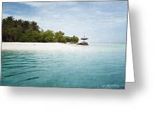 Maledives Greeting Card