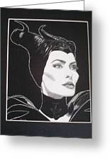 Maleficent2 Greeting Card