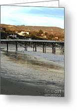 Malibu Beach California Greeting Card
