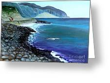 Malibu Beach Greeting Card
