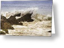 Malibu Waves Greeting Card
