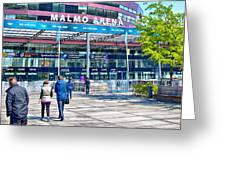 Malmo Arena 05 Greeting Card