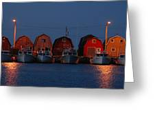 Malpeque Harbor After Sunset Greeting Card