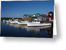 Malpeque Harbor Early Evening Greeting Card