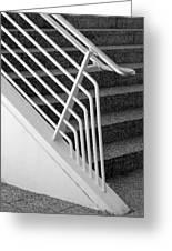 Mam Art Deco Stairs Greeting Card