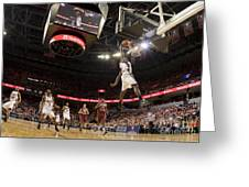 Mamadi Diane Dunk Against Boston College Greeting Card