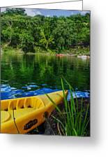 Mambu Canoe Greeting Card