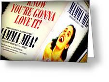 Mamma Mia Greeting Card