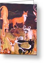 Mammals Of Marin  Where Will We Go Greeting Card