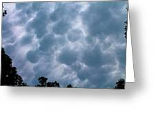 Mammatus Clouds Greeting Card by Candice Trimble