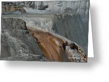 Mammoth Springs 2.0070 Greeting Card