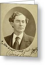 Man, 1874 Greeting Card