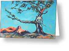 Man And Woman Of The Earth Greeting Card