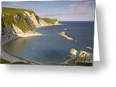 Man O' War Cove - Dorset Greeting Card