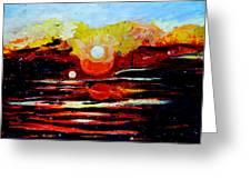 Manas Sarovr Lake-11 Greeting Card