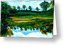 Manas Sarovr Lake-13 Greeting Card