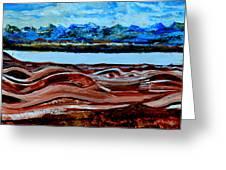 Manas Sarovr Lake-19 Greeting Card