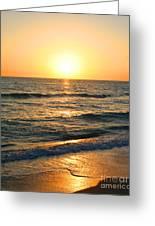 Manasota Key Sunset Greeting Card