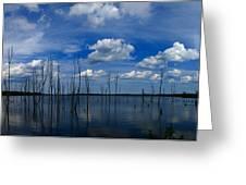 Manasquan Reservoir Panorama Greeting Card