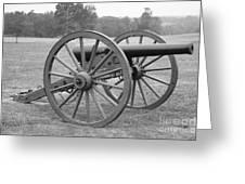 Manassas Battlefield Cannon Greeting Card