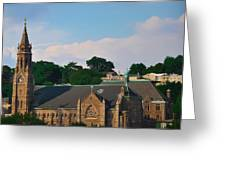 Manayunk - Saint John The Baptist Church Greeting Card