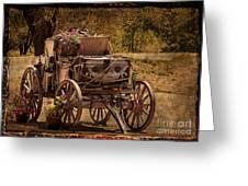 Mancos Flower Wagon Greeting Card