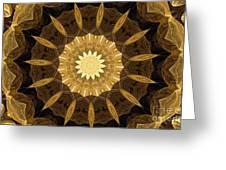 Mandala 014-1 Greeting Card