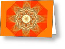Mandala 014-2 Greeting Card