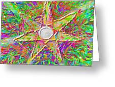Mandala 1 22 2015 Greeting Card