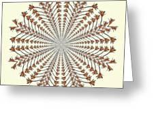 Mandala 12 Greeting Card