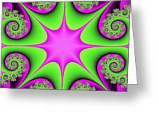 Mandala Cheerful Greeting Card