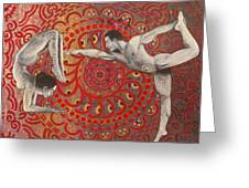 Mandala Dance Greeting Card